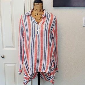 Artisan NY linen tunic sz L